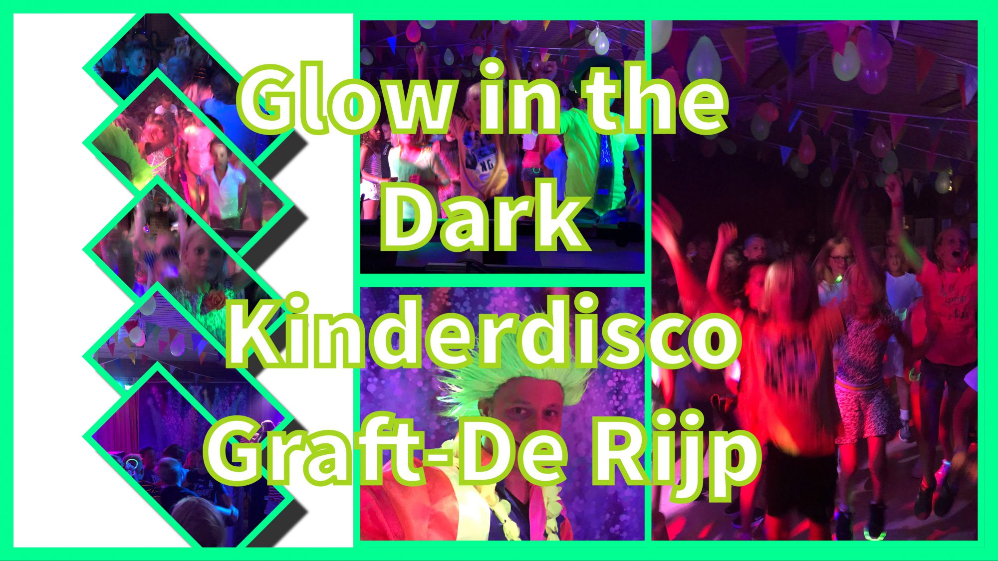 Glow in the Dark Kinderdisco Graft-De Rijp