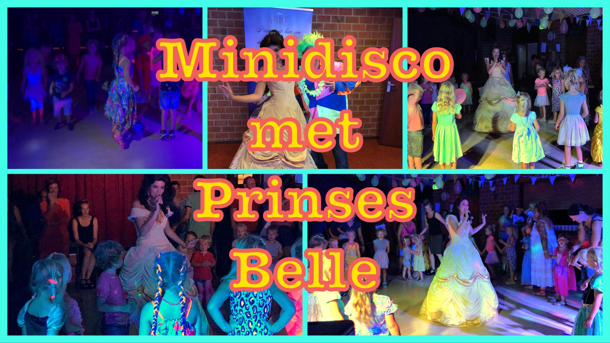 Minidisco met Prinses Belle