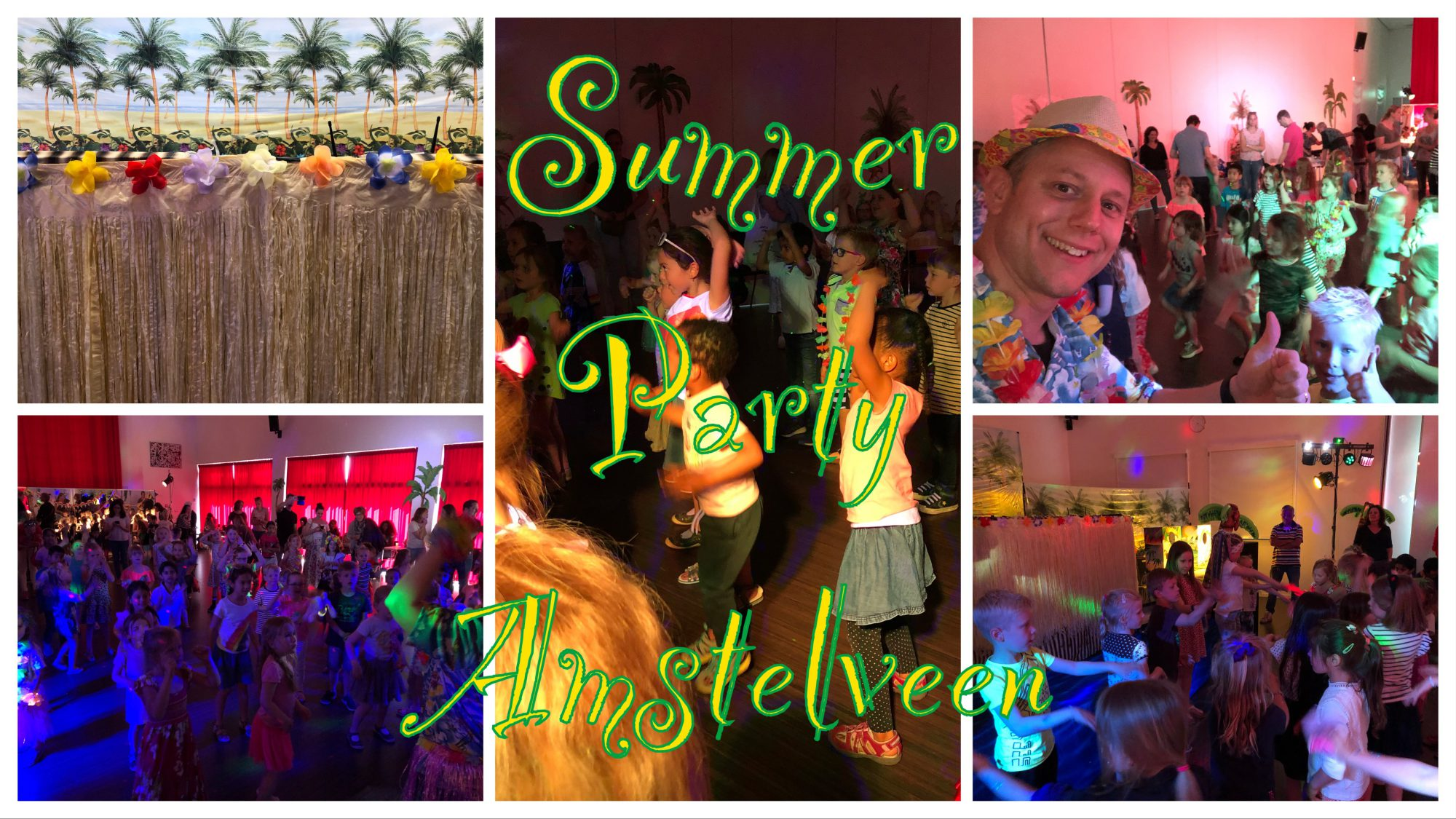 Kinderdisco Kids Disco Summer Party Amstelveen
