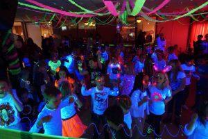 Kinderdisco Glow in the Dark