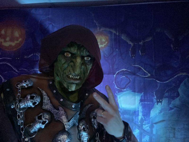 Kids DJ Edwin Griezel en Halloween