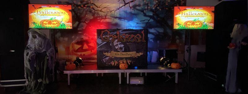 Halloween en Griezel kinderdisco