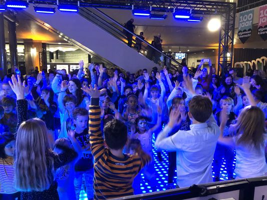 Kinderdisco kids museumnacht