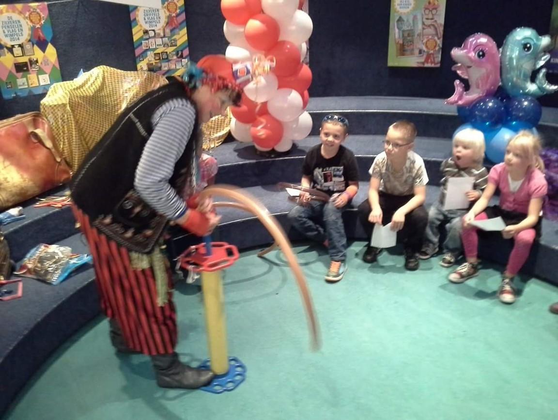 Ballonnenvrouw Kinderdisco