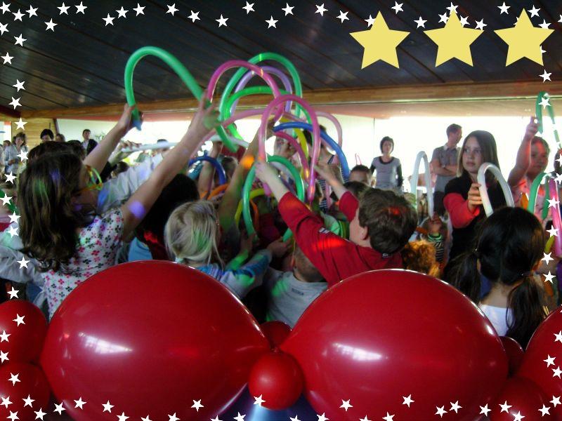 Ballonnen kinderdisco