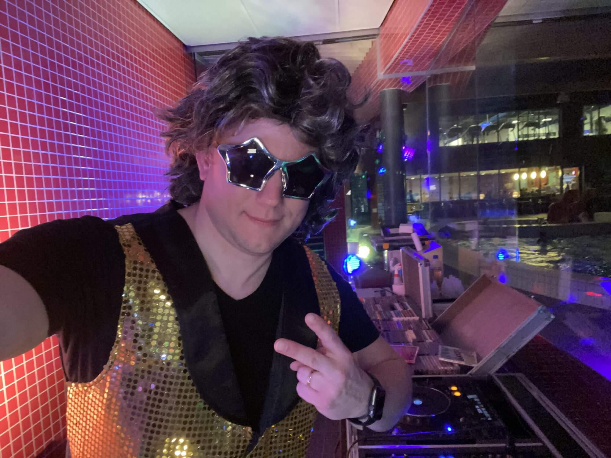 Disco party kinderdisco